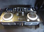 Gem Sound CMP-500 Dual-CD MP3 USB DJ Mixer Board